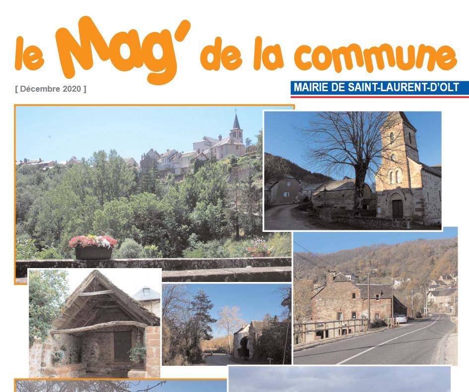 Mag de la commune de Saint-Laurent-d'Olt 2020-12